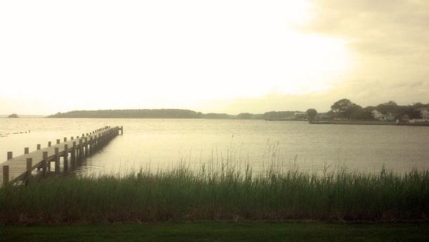 View from Bay Resort Motel Room 5-2014